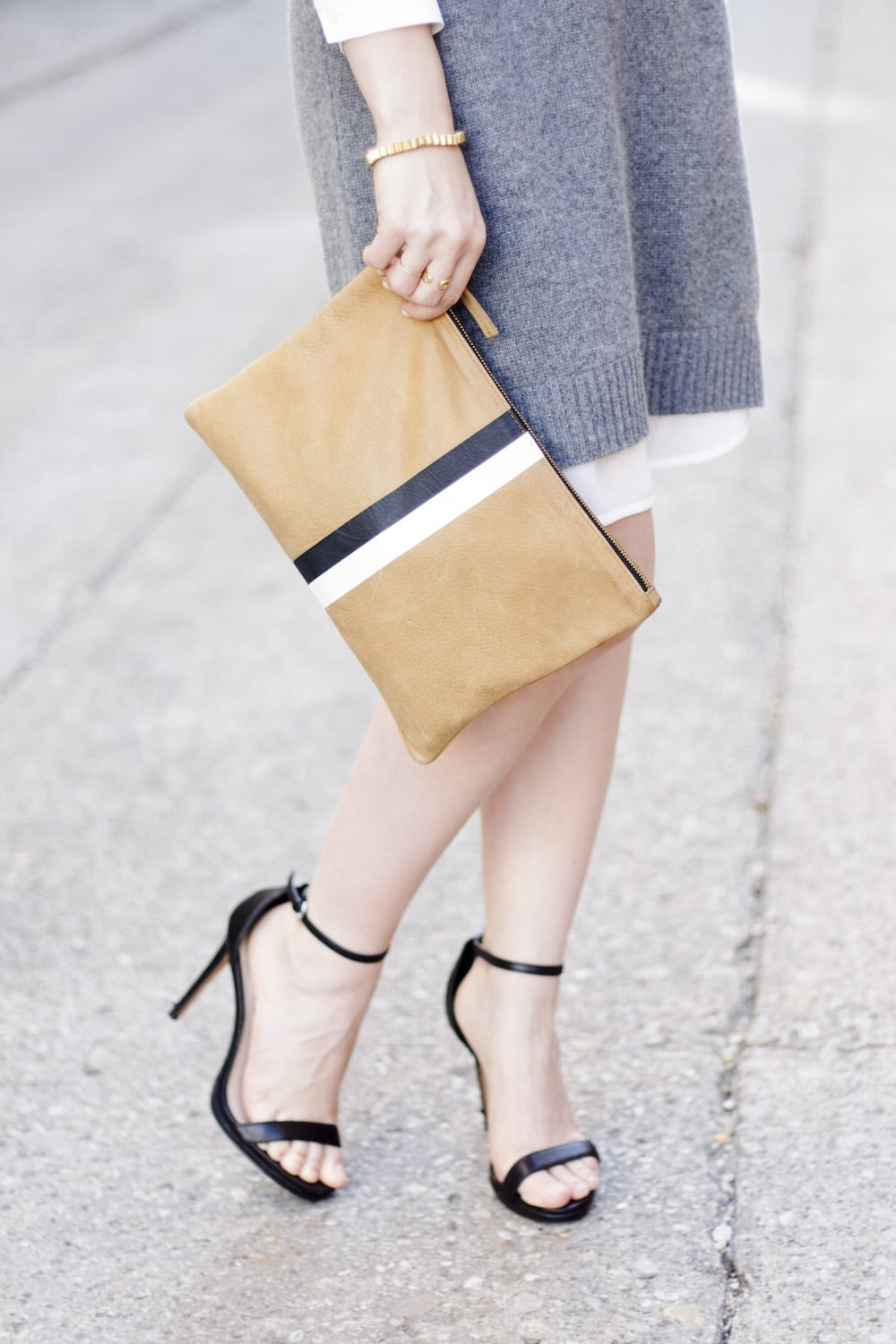 Clare Viver Clutch and Heels_1