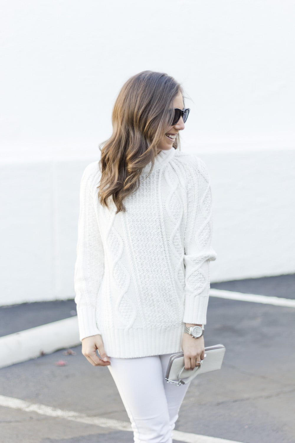 J Crew Cable Sweater