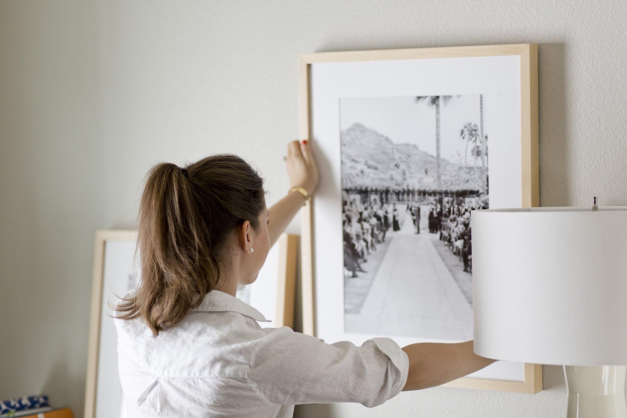 A Dash of Details hanging Framebridge Frame