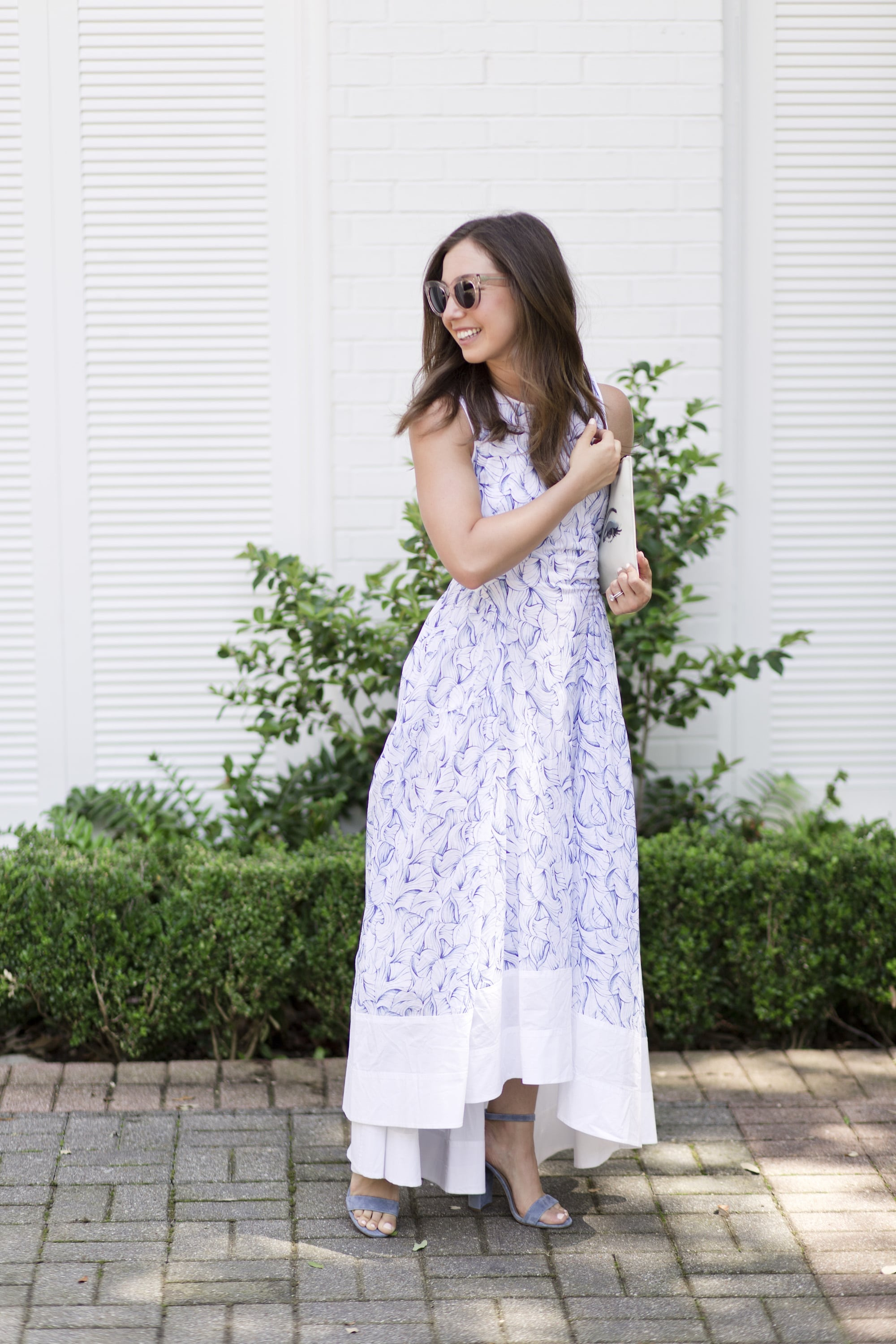 A Dash of Details in Rent the Runway Dress