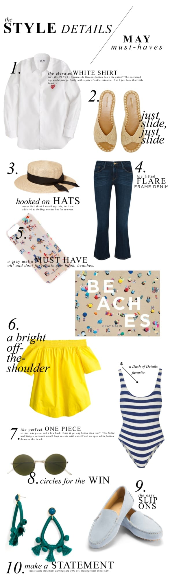 May Style Must Haves