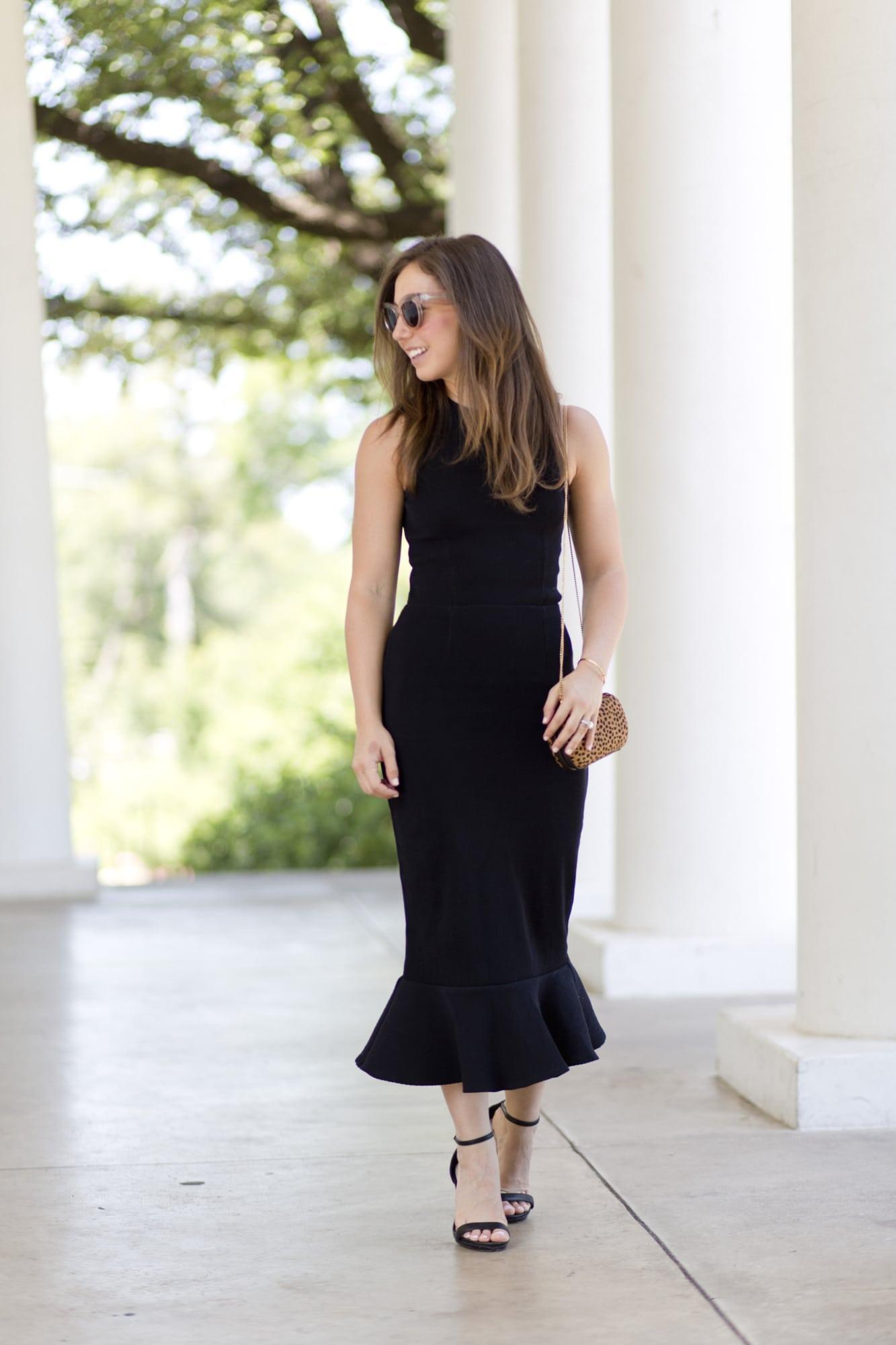 Rent the Runway Black Dress