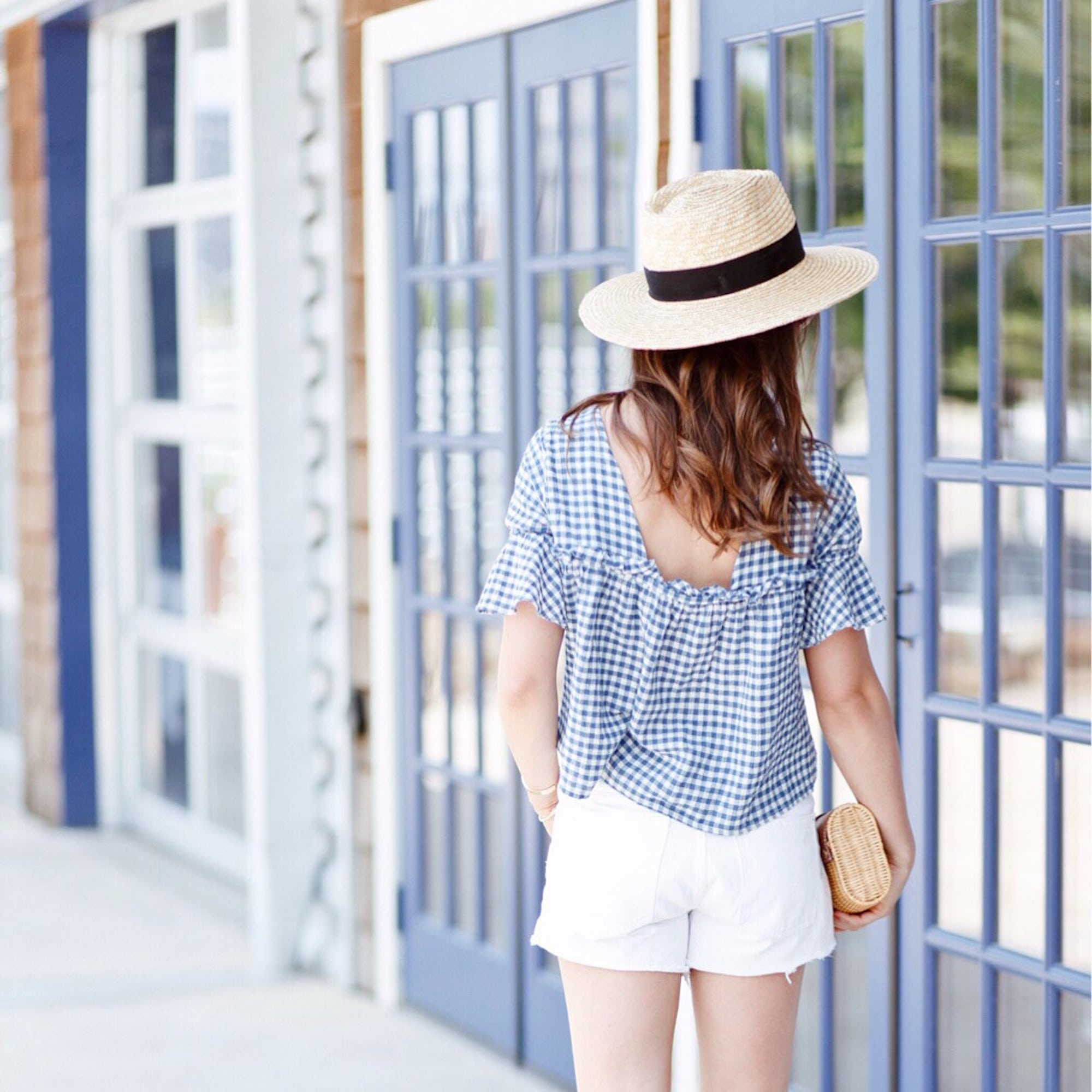 Gingham for the 4th of July