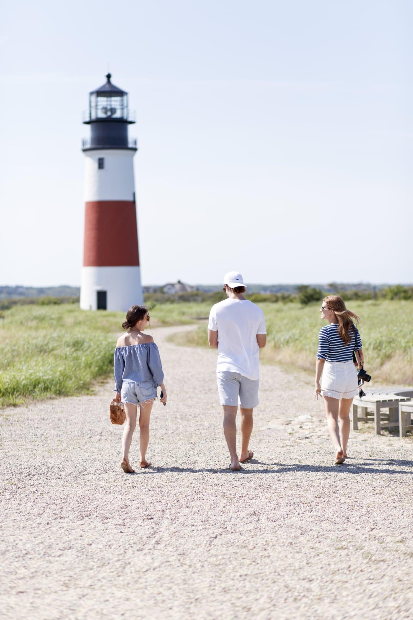 Nantucket with Mackenzie Horan, Amy Stone and Patrick