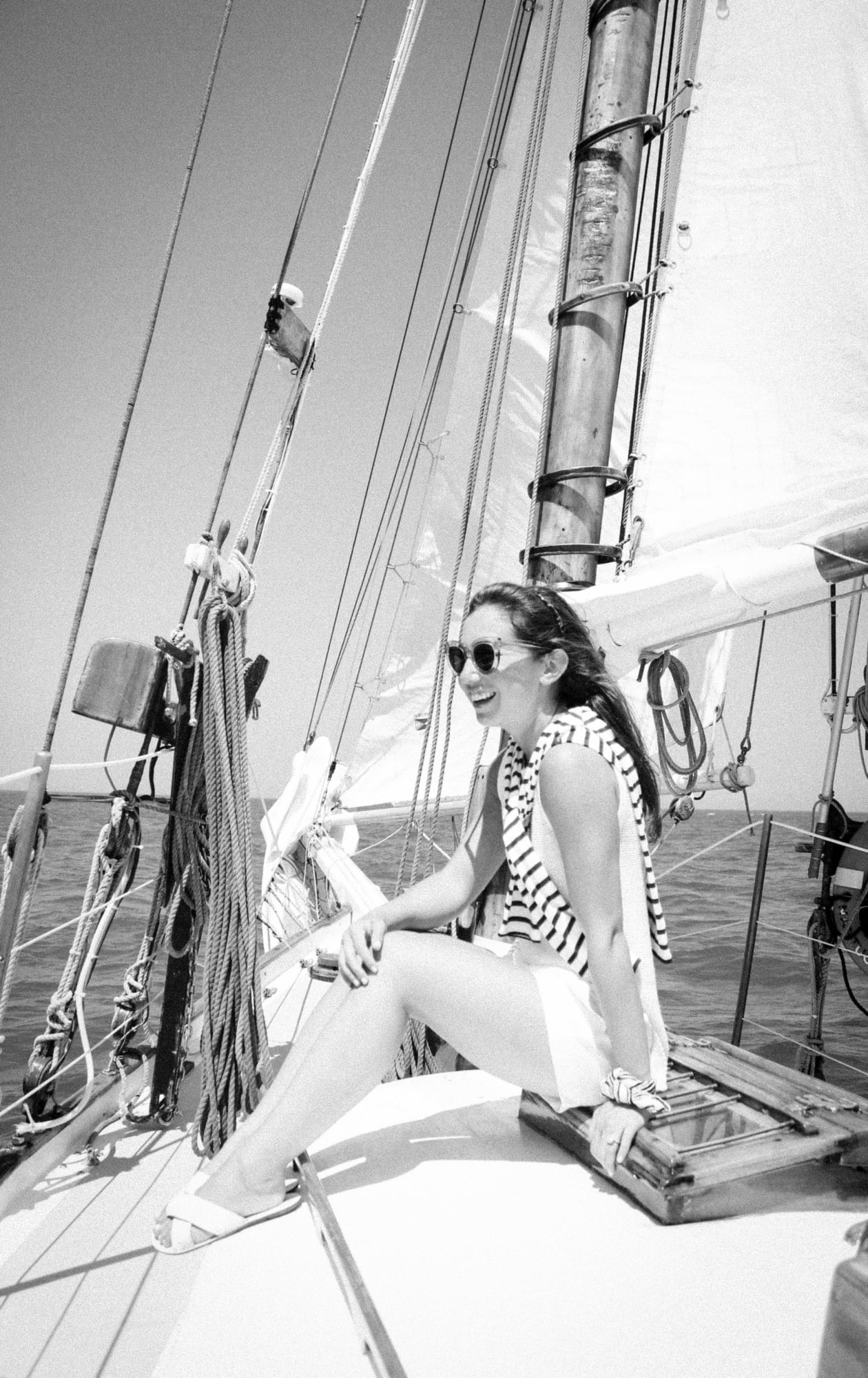 Sailing in Nantucket