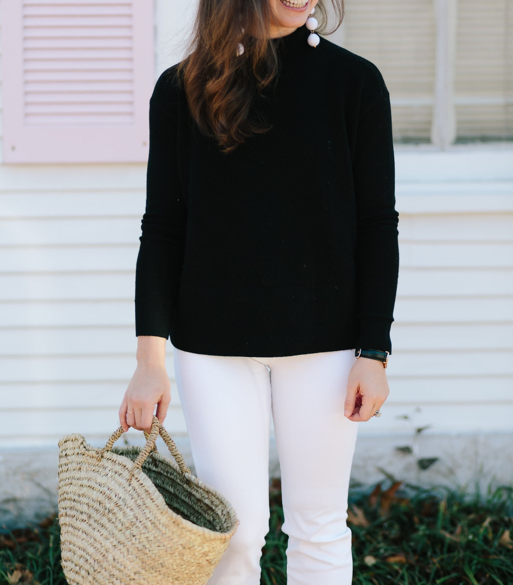 Black and White Outfit on A Dash of Details
