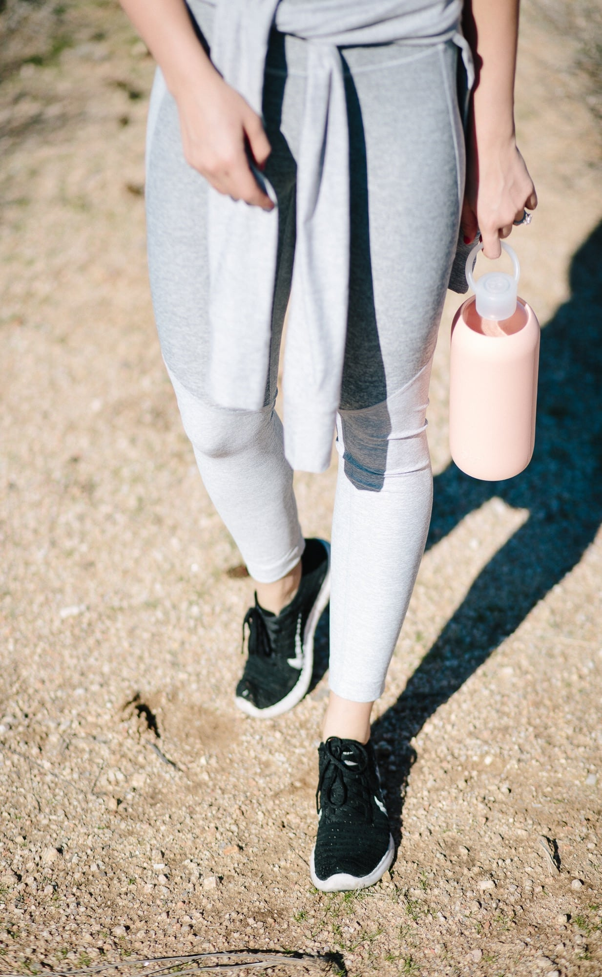 Nikes and 3/4 Leggings from Outdoor Voices