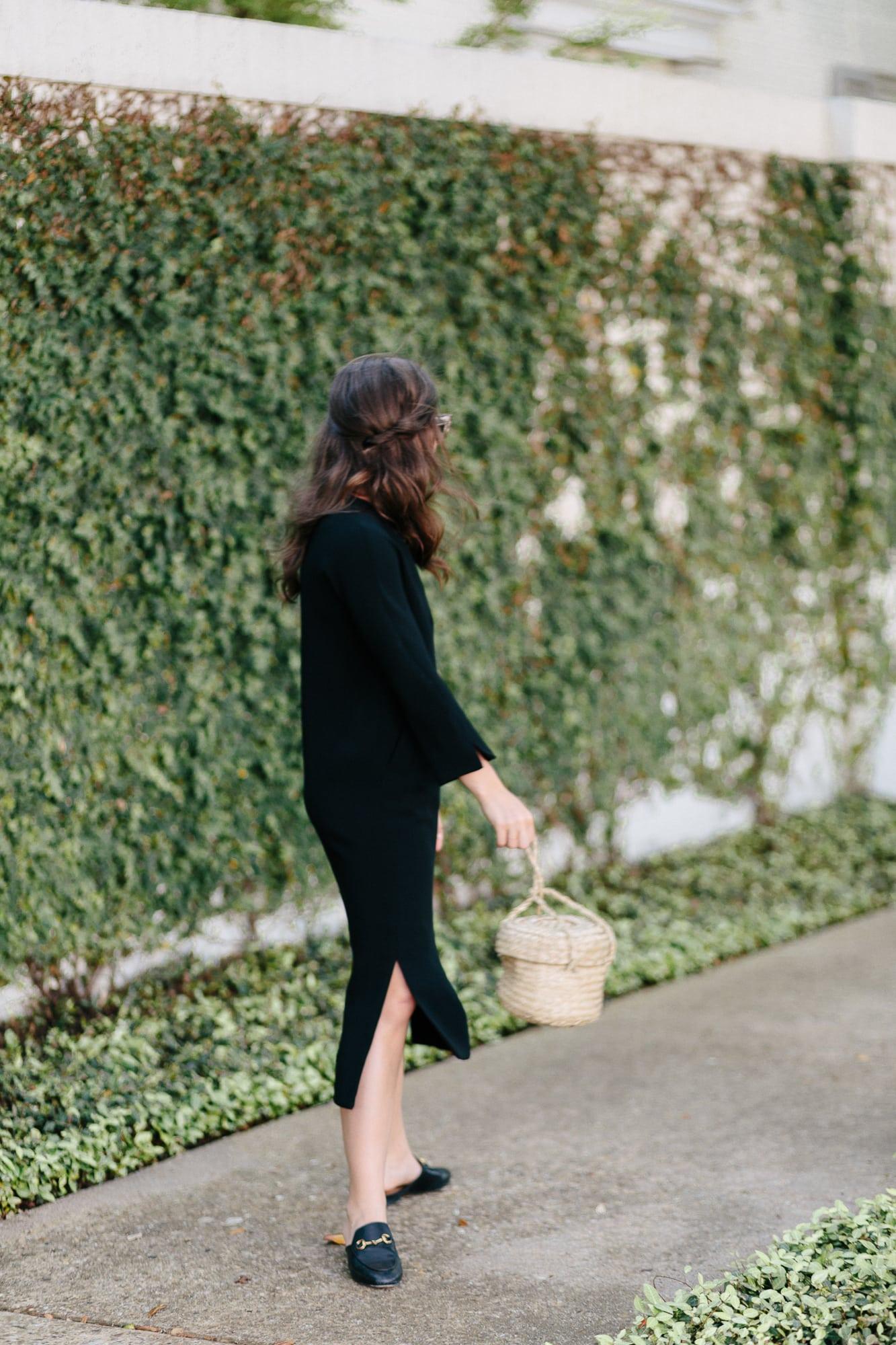 Black Midi Dress from L.K. Bennett