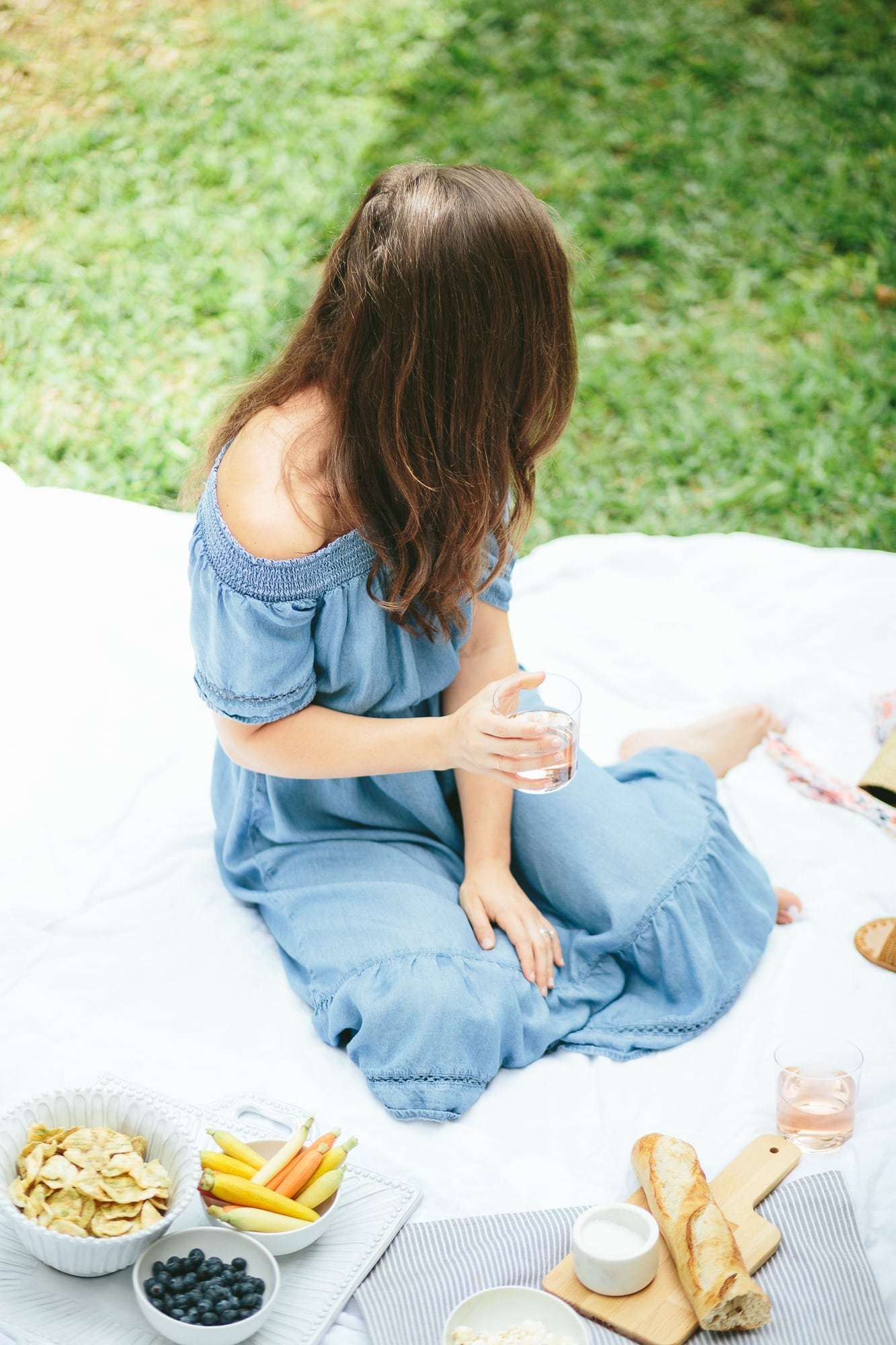 Old Navy Off the Shoulder Dress on A Dash of Details