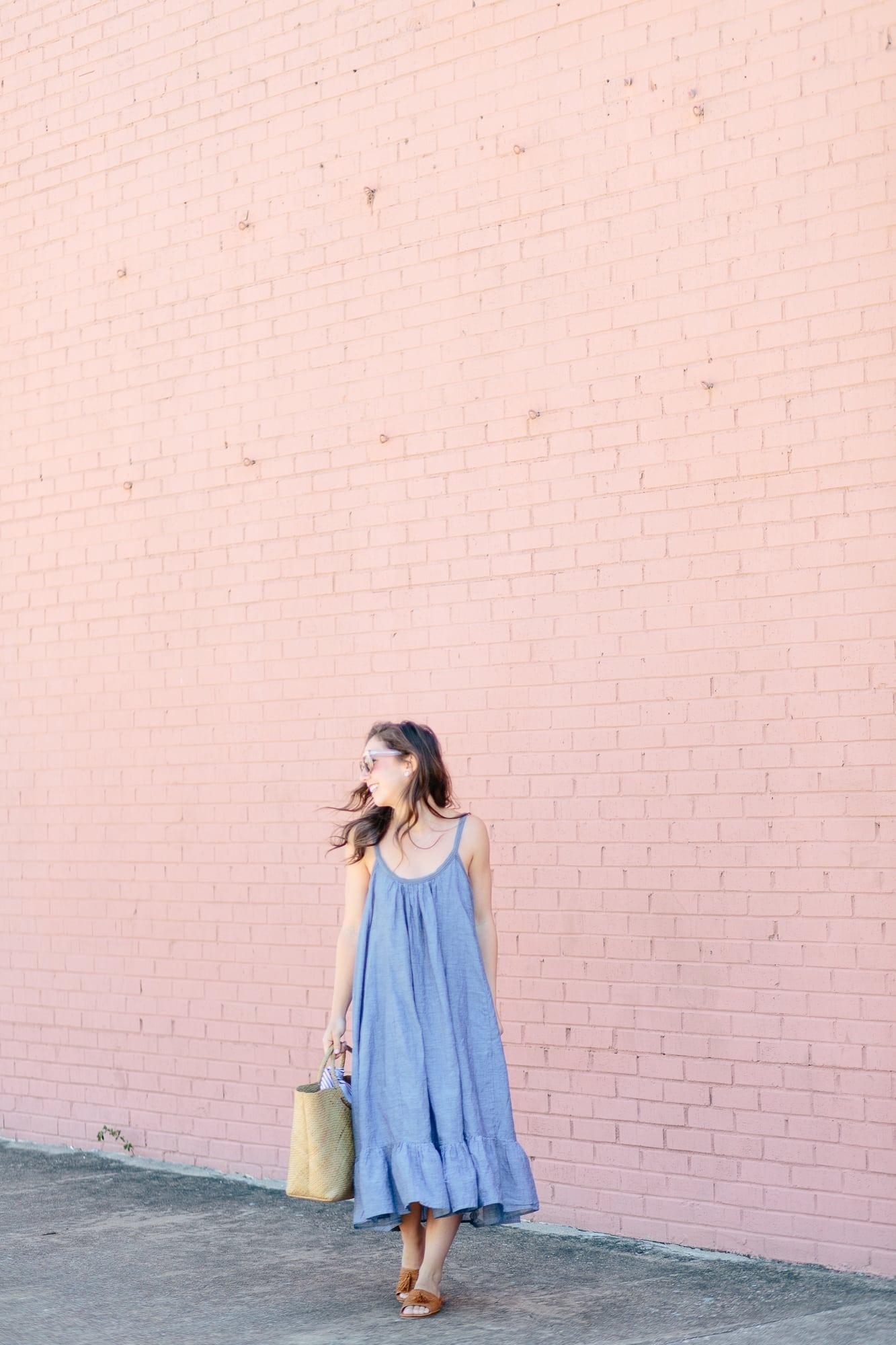 Peplum Dress from Vetiver
