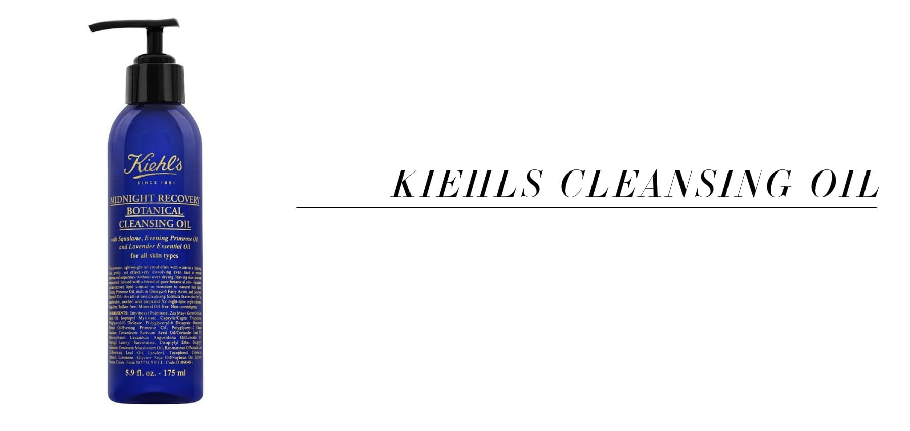 Kiehls Beauty