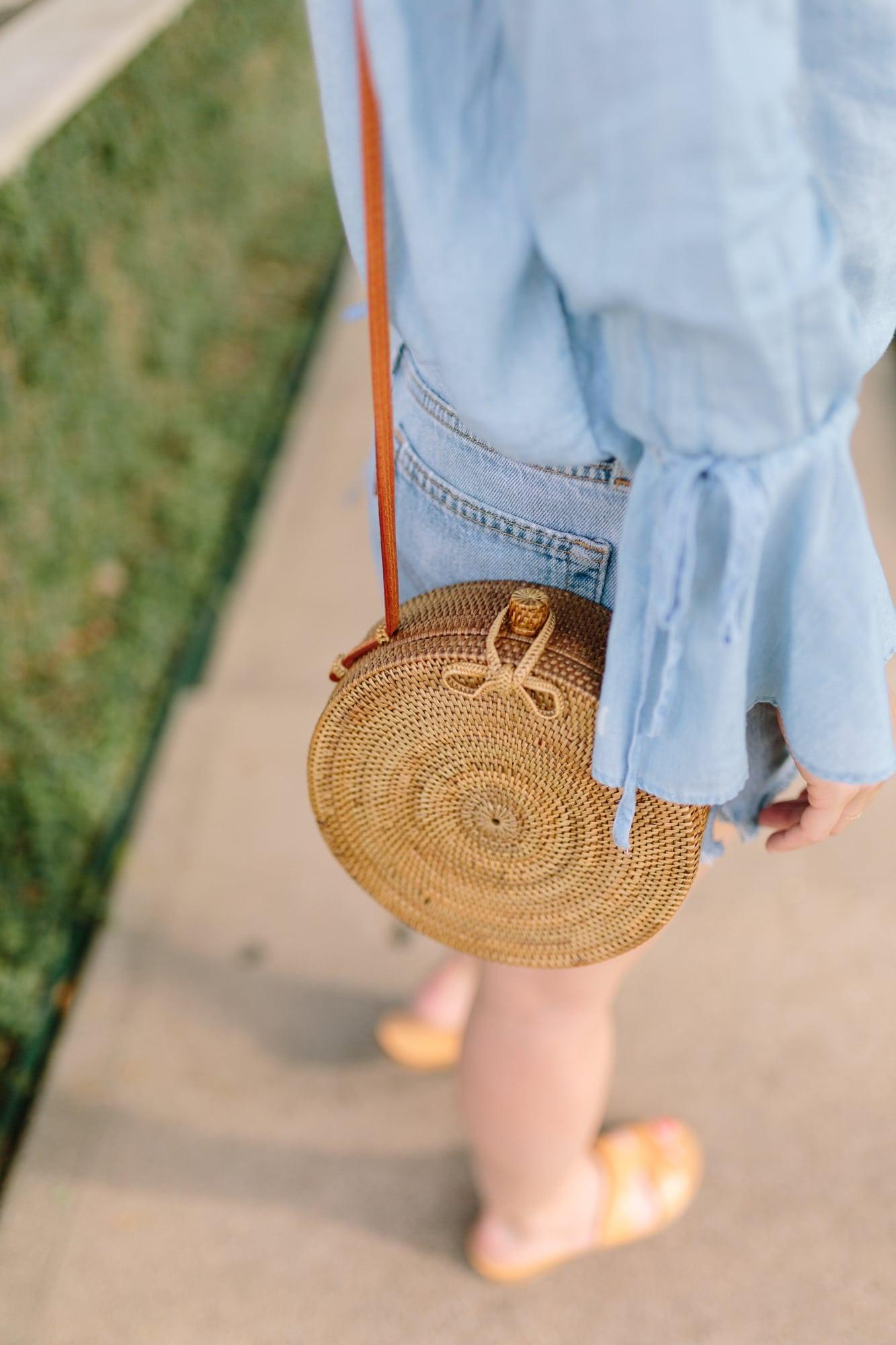 Detail of Basket Bag