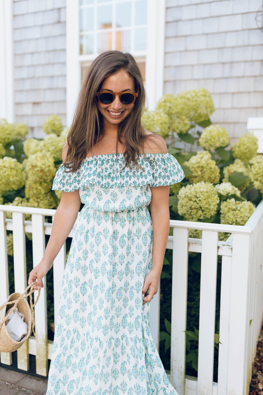 Blue and Green Prairie Dress