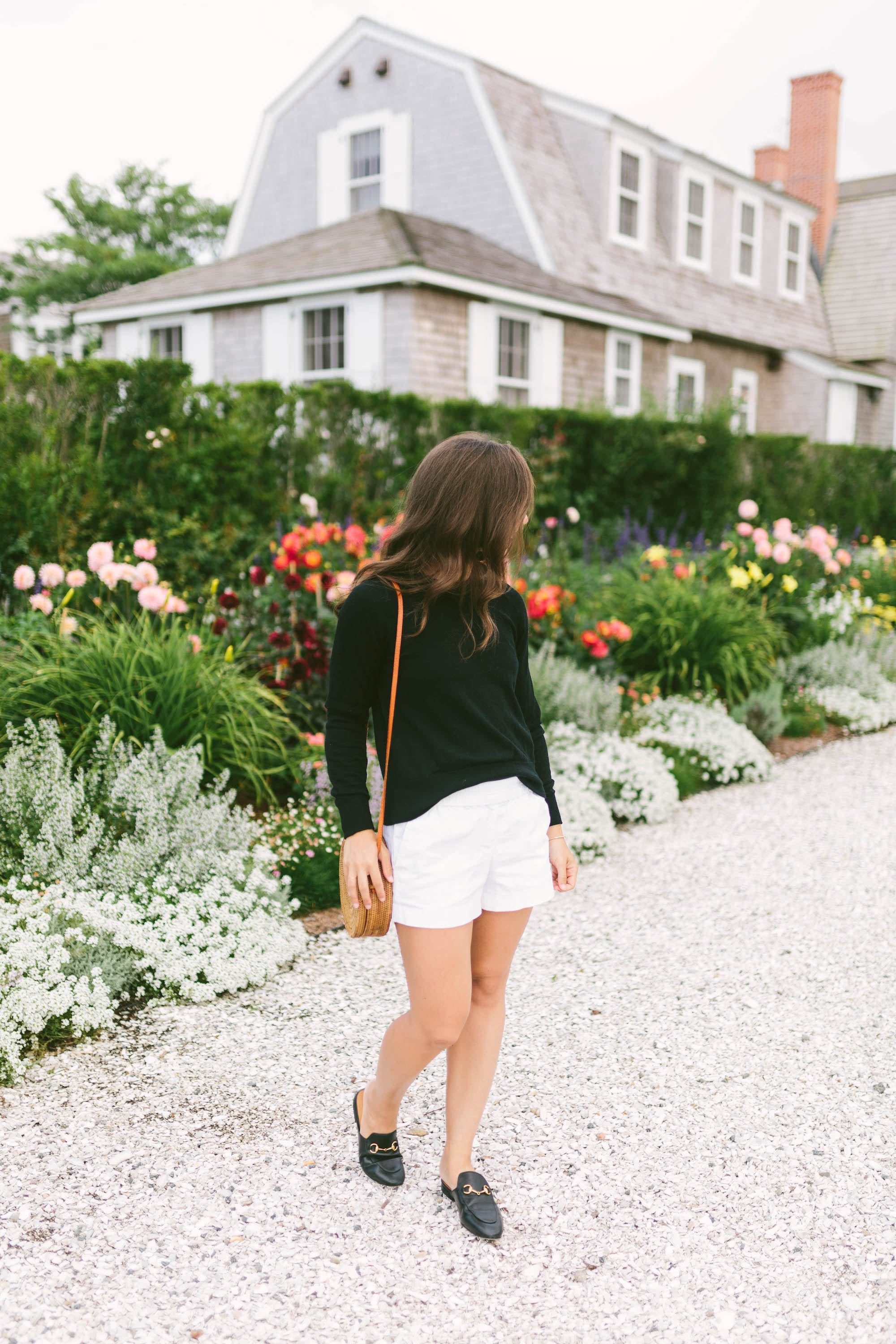 Black J.Crew Tippy Sweater