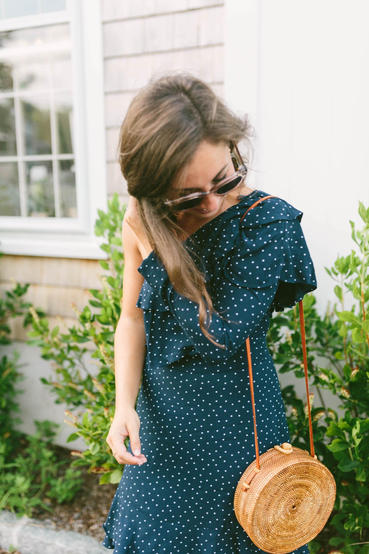Shopbop Polka Dot Dress