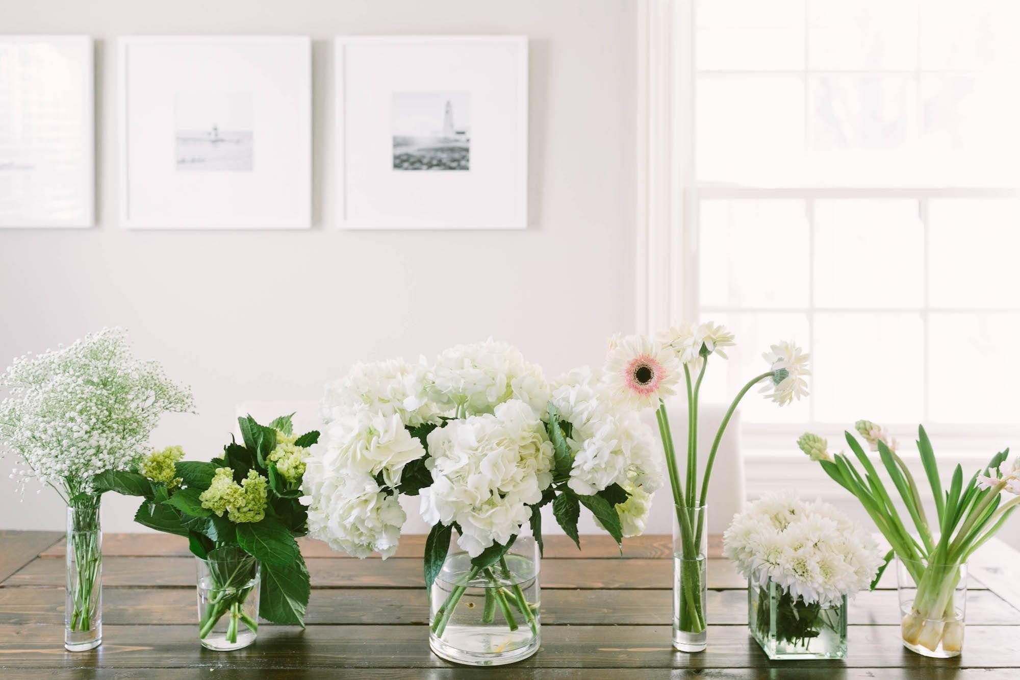 Fresh Flowers and Framebridge Valentine's Day