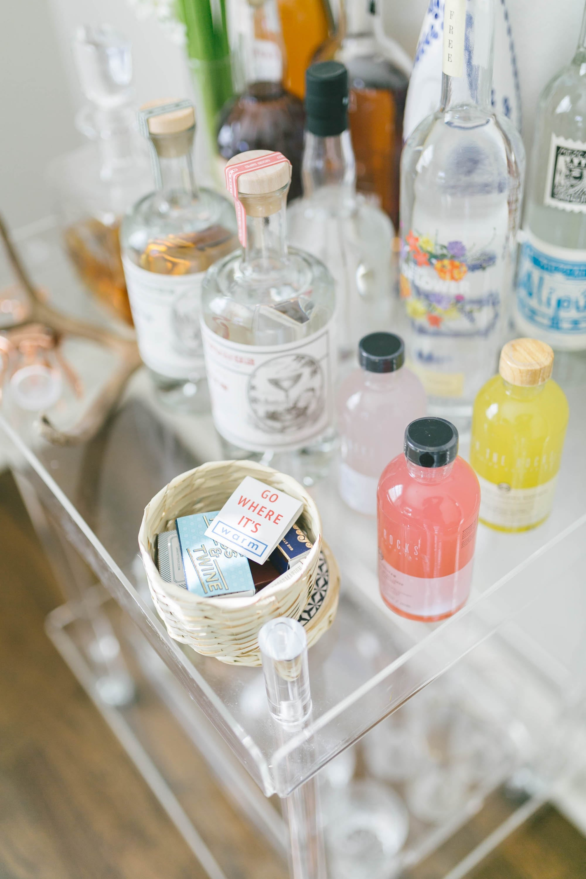Detail of Bar Cart