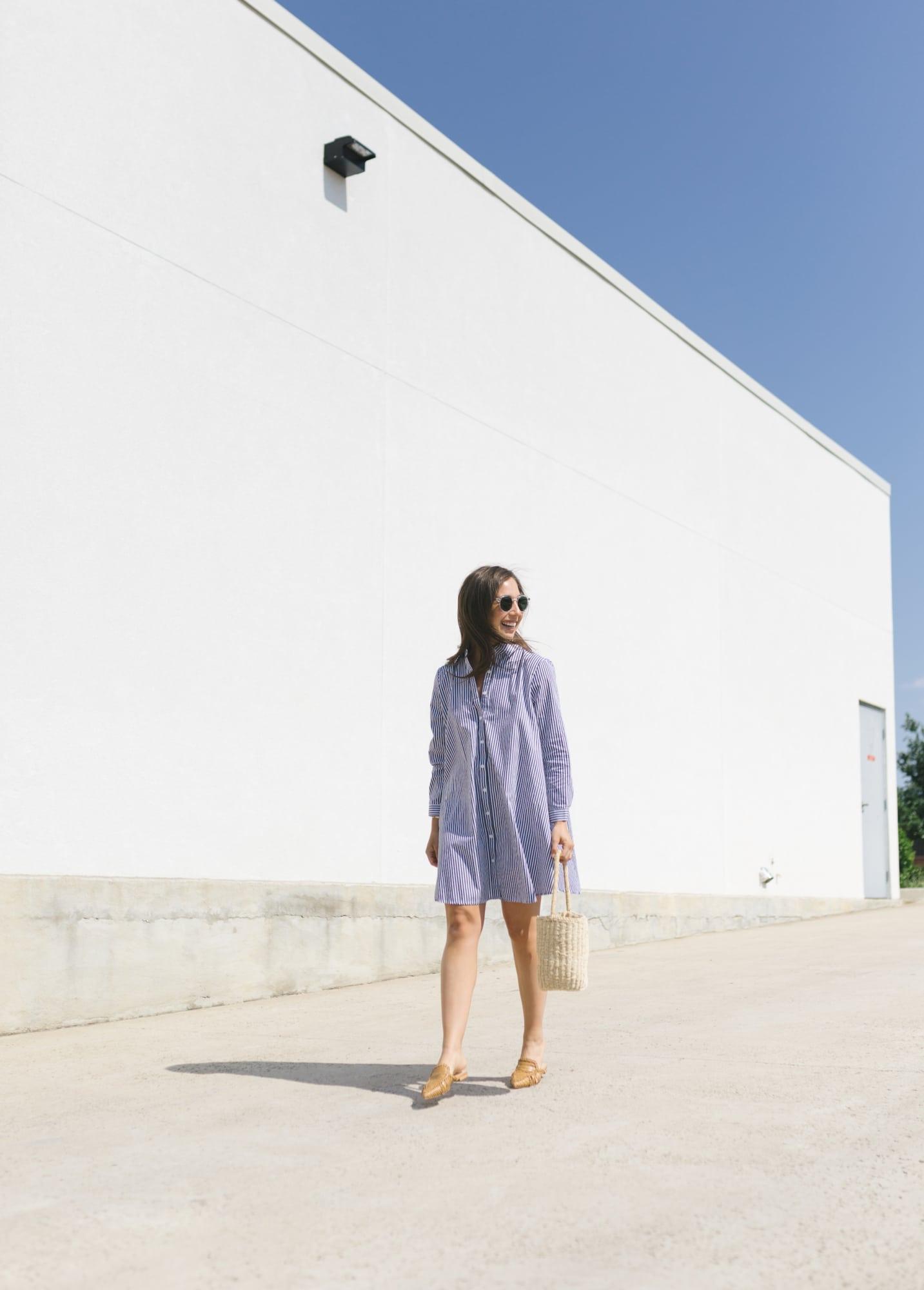 BB Dakota Stripe Dress