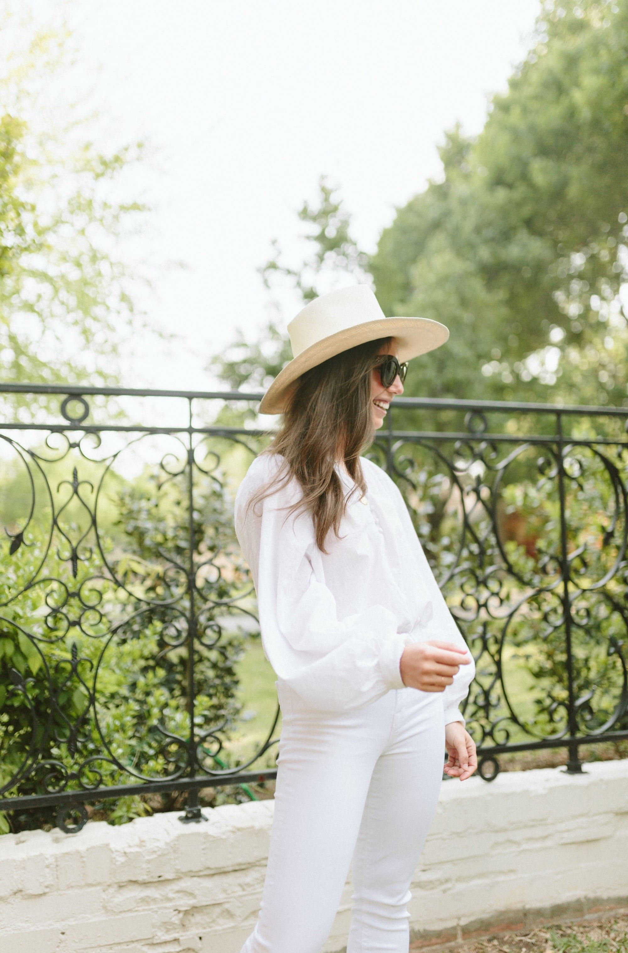 A Dash of Details in All White Outfit