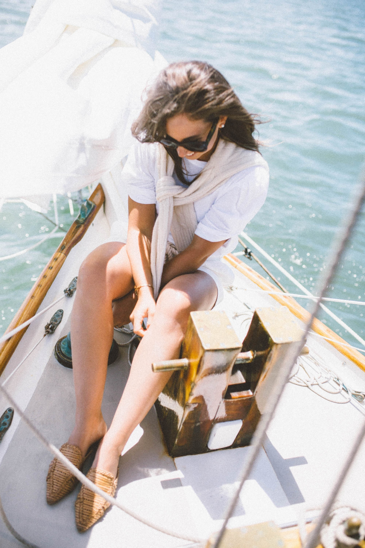 Polo Ralph Lauren on Sailboat