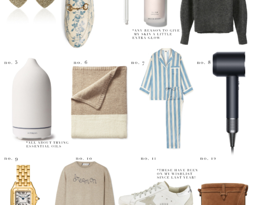 Gift Guide Wish List