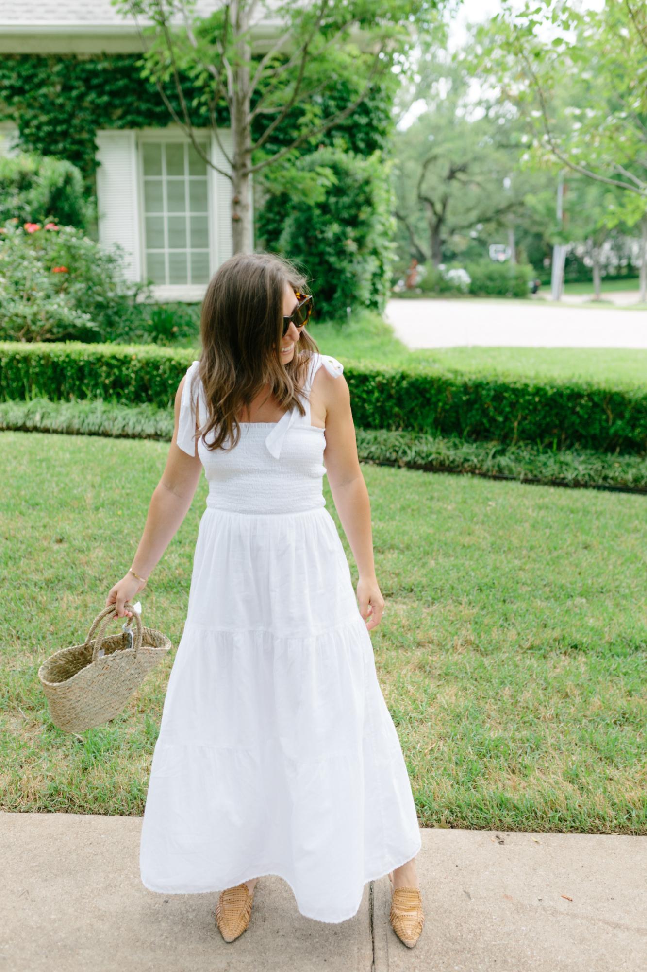 Artizia White Dress